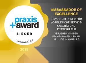Praxis+Award Sieger 2018